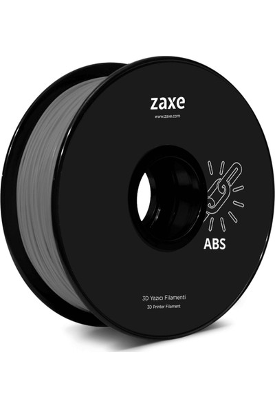 Zaxe Filament 1.75 mm Gri Abs - Zaxe