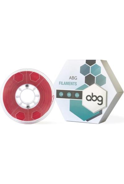 Abg Filament 1.75 mm Kırmızı Pla - Abg