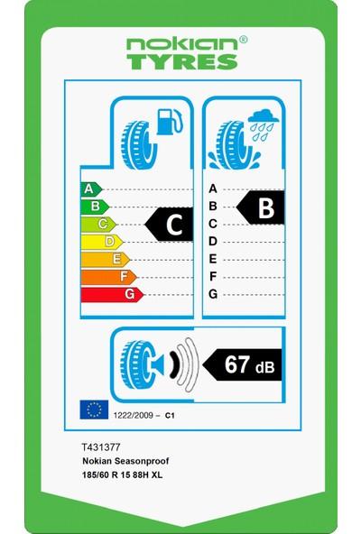 Nokian Seasonproof 185/60 R15 88H Xl 4 Mevsim Lastiği (Üretim Yılı: 2020)