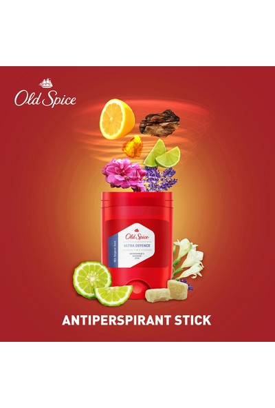 Old Spice Anti Perspirant Stick Deodorant 150 ml Ultra Defence ( 50ML x 3 )