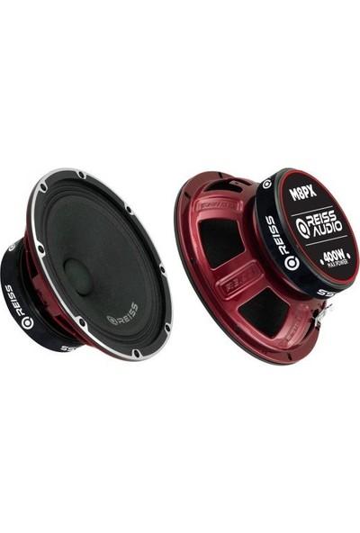 Reiss Audio Reiss 20 cm Midrange 800 Wat 175 Rms 2 Li Takım RS-M8PX