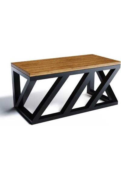 Masa Ayağı Çapraz Kesim Metal Masa Ayağı Retro Tasarım Masa Ayakları Ofis Karşılama Masası Ayağı