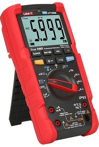 Unı-T UT195M Profesyonel Multimetre - Unı-T
