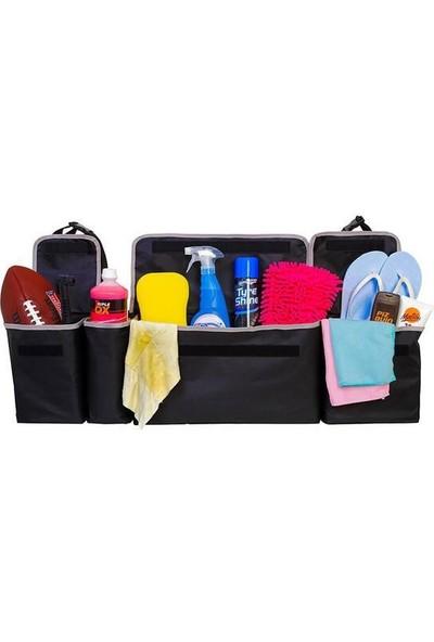 Ankaflex Araç Eşya Çantası Oto Bagaj Düzenleyici Organizer Çanta (4 Cepli)