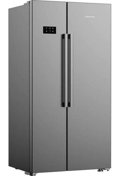 Grundig GSND 6384 S A 580 lt (Net Hacim) Gardrop Tipi Duo No Frost Buzdolabı