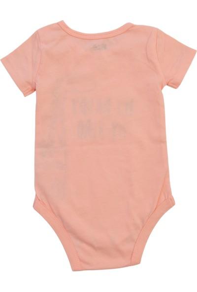 Bebek Kısa Kollu Body Kız / Erkek Jobaria Bebek Body