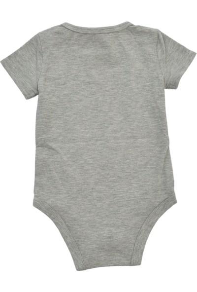 Bebek Kısa Kollu Body Kız / Erkek Maleevus Bebek Body