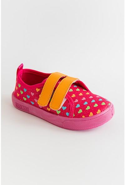 Sanbe Kız Çocuk Keten Ayakkabı