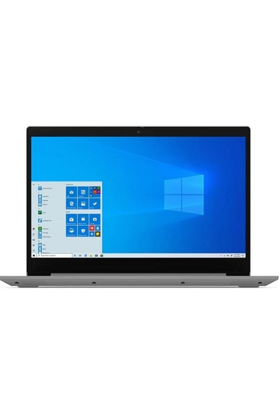 "Lenovo IdeaPad 3 Intel Core i3 1005G1 8GB 256GB SSD Windows 10 Home 15.6"" Taşınabilir Bilgisayar 81WE008CTX"