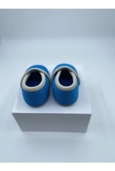 Candyron Bebek Bez Patik - 3 Katmanlı - Mavi