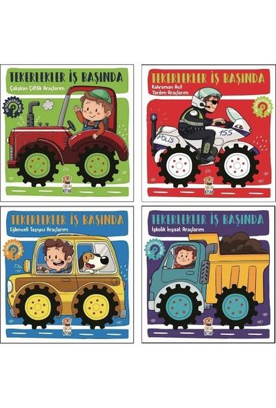 Tekerlekler Iş Başında 4 Hareketli Kitap Set