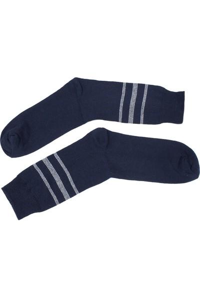 Ilbaş 12'li Ekonomik Karışık Renk Erkek Çorap