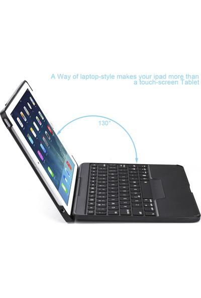 Tcherchi iPad 9.7 Koruyucu Klavyeli Kılıf - İngilizce Klavye (Yurt Dışından)