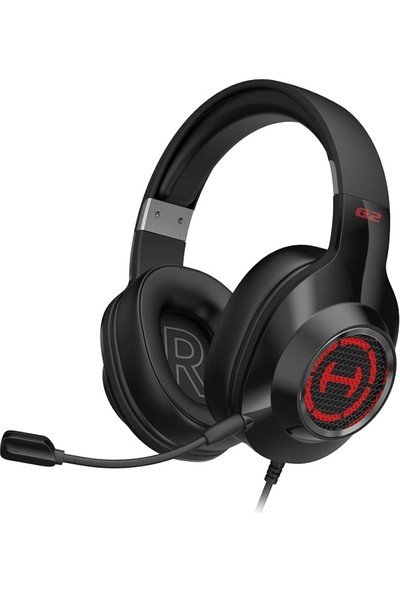 Edifier G2 Iı 7.1 Surround USB Girişli 50MM Sürücü Rgb Kulaküstü Oyuncu Kulaklığı