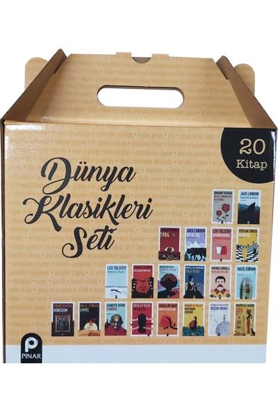 Pınar Yayınları Dünya Klasikleri Kutulu Set (20 Kitap)