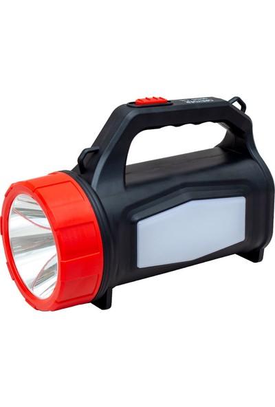 Greyder GD-425 5 Watt Şarjlı Ledli Projektör El Feneri