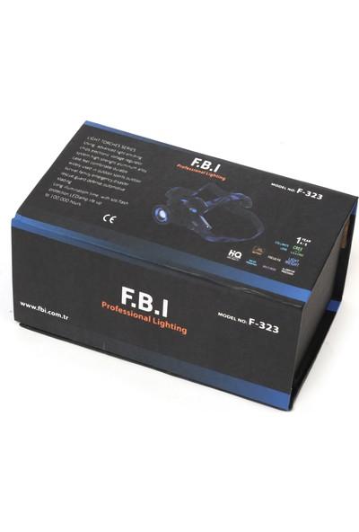 FBI F.b.ı F-323 Q5 LED Su Geçirmez Şarjlı Kafa Feneri