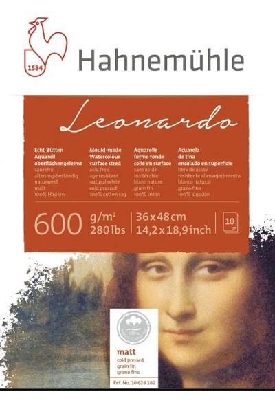Hahnemühle Leonardo Suluboya Defter 600 gr 36 x 48 cm 10 Yaprak Cp