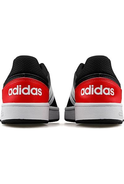 Adidas Hoops 2.0 K Genç/Çocuk Günlük Ayakkabı FY7015 Siyah
