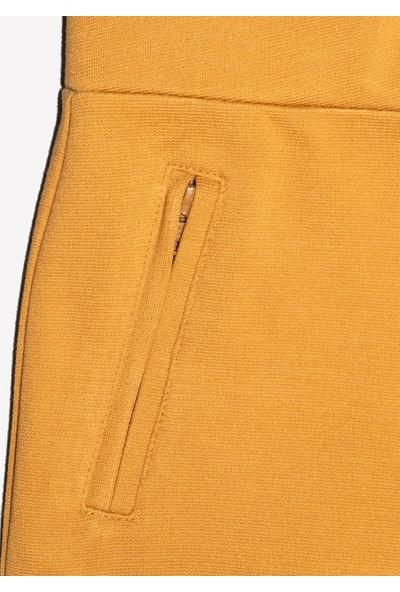 Ozmoz Kız Çocuk Hardal Rengi Slim Fit Pantalon