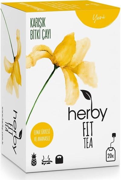 Herby Fit Tea 20'li Süzen Poşet - Elma Sirkeli