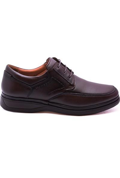 Ayakkabiburada 2020-209 Yumuşak Deri Kışlık Erkek Ayakkabı
