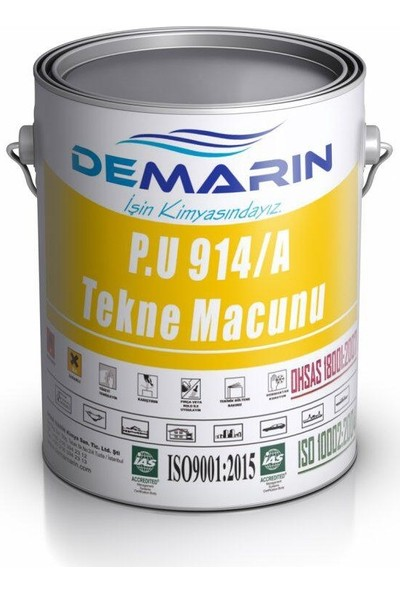 Demarin Demafiller 914/A Tekne Macunu 4 kg
