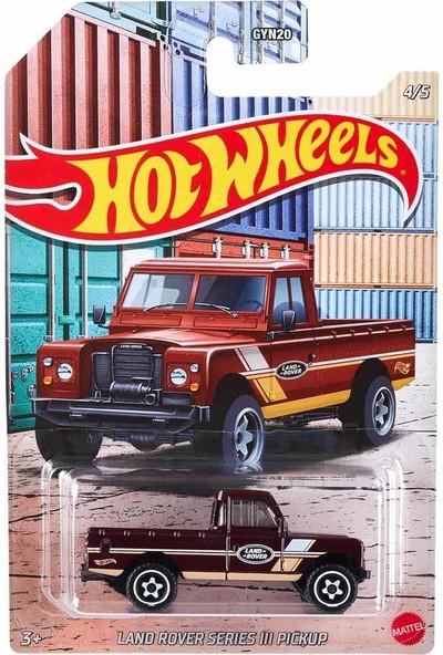 Hot Wheels Pickup Arabalar GYN20 - Land Rover Series 3 Pickup