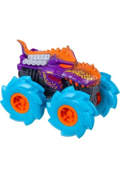Hot Wheels Monster Trucks Çek Bırak Arabalar GVK37 - Mega Wrex Mor