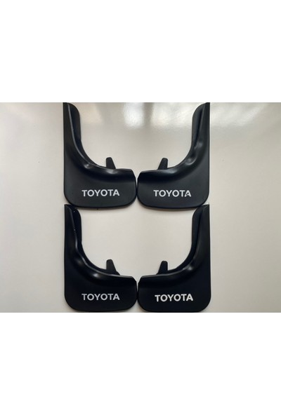 Toyota Paçalık Çamurluk Tozluk Ön Arka 4'lü Set