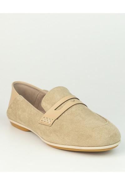 Marine Shoes Kadın Vizon Bağcıksız Babet