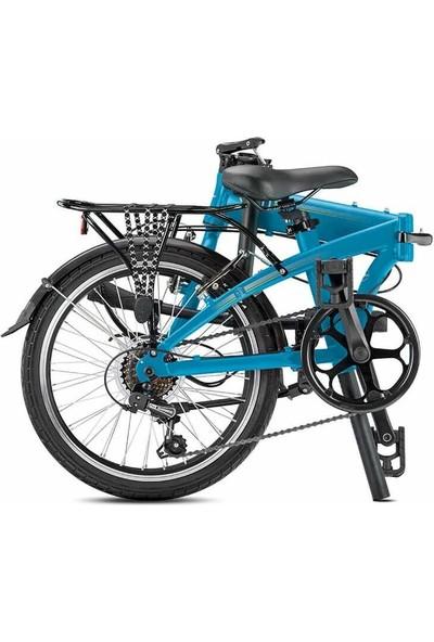 Tern Lınk A7 Katlanır Bisiklet Mavi-Gri