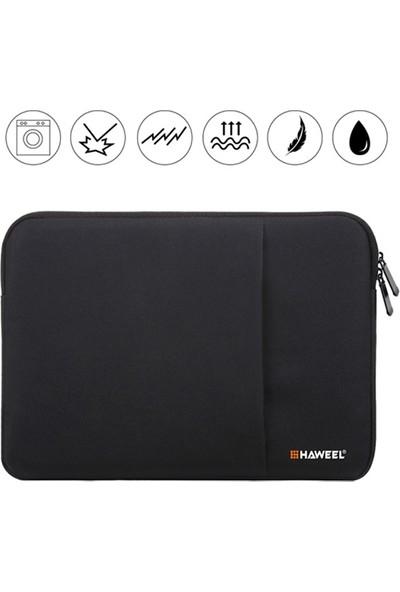 """Dybox Haweel Serisi 15"""" Macbook Pro ve Universal Laptop Taşıma Çantası - Kılıfı Siyah"""