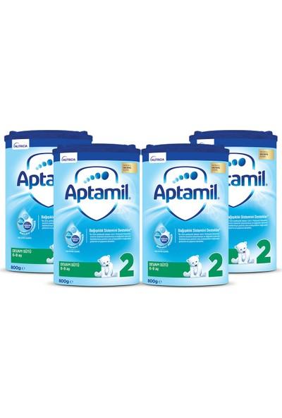 Aptamil 2 Devam Sütü 800 gr 6-9 Ay Akıllı Kutu x 4 Adet