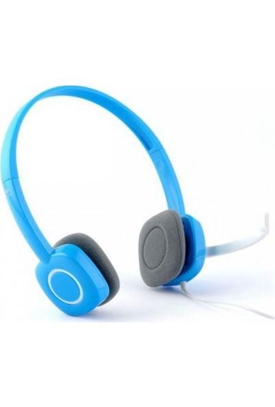 Logitech H150 Stereo Mikrofonlu Kulaküstü Kulaklık Mavi