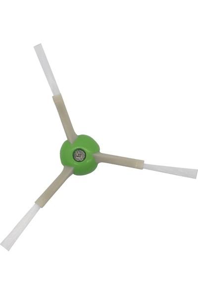 Lin Grup Irobot Roomba I7 (7150) I7 + (7550) E5 (5150) E6 (6198) Uyumlu Yan Fırça 4 Adet