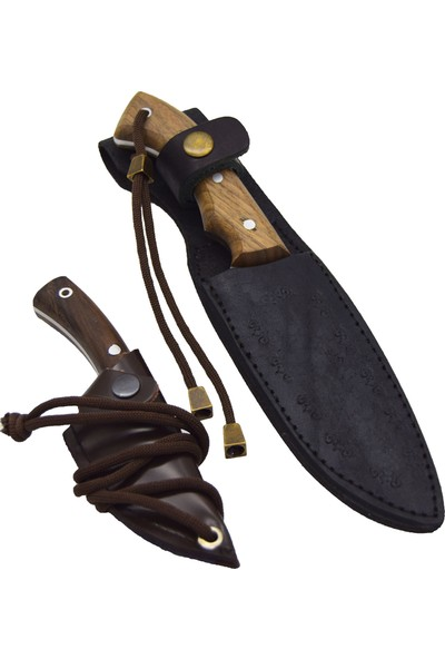 Akın Bıçak El Yapımı 2'li Kamp Seti BB17-1
