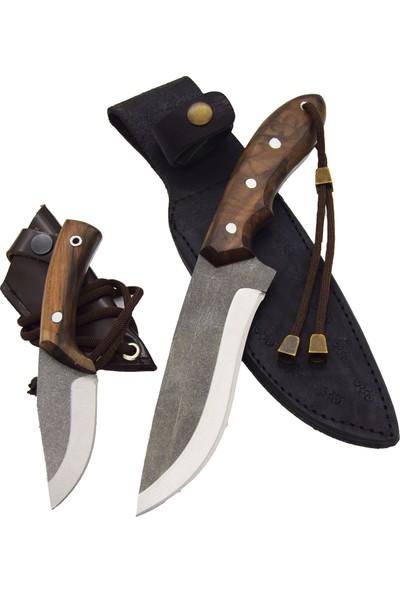 Akın Bıçak El Yapımı 2'li Kamp Seti BB20-1