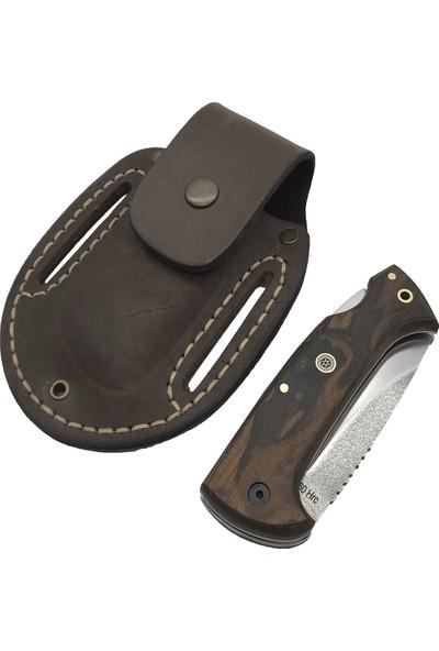 Akın Bıçak El Yapımı N690 Kilitli Çakı No:1 BB120