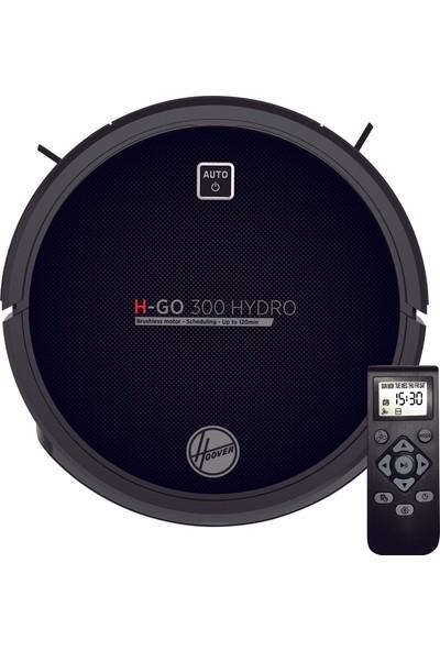Hoover H-GO 300 HYDRO 2si 1 Arada Akıllı Robot Süpürge ve Paspas Siyah