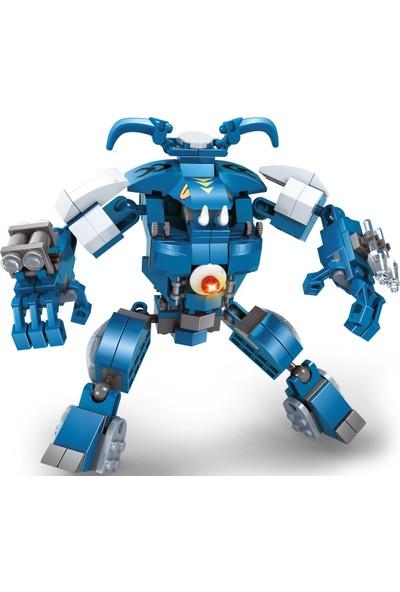 Ausini 232 Parça Mavi Robot