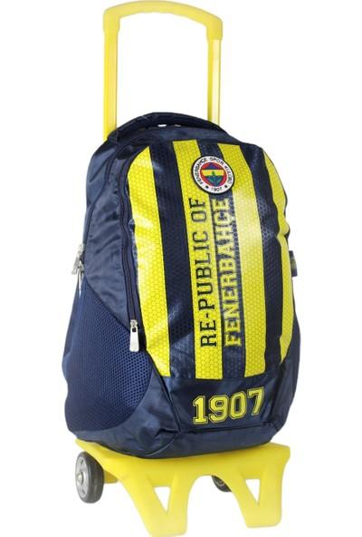 Hakan Çanta Fenerbahçe Çekçekli Okul Çantası