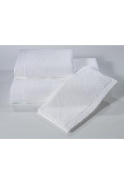 Soft Cotton Micro Havlu Ekru 50*100 cm