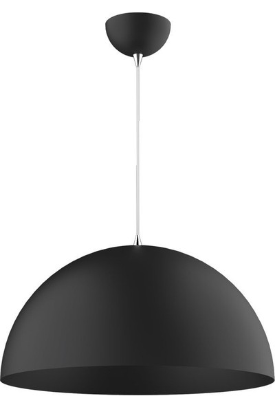 Riolight Tekli Metal Siyah Sarkıt Çap 40CM