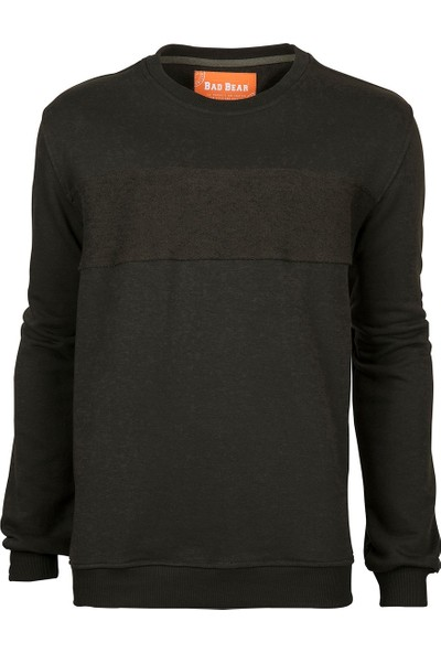 Bad Bear Haki Erkek Sweatshirt
