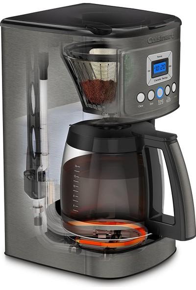 Cuisinart Kahve Makinesi,cam Sürahi, Siyah Paslanmaz Çelik
