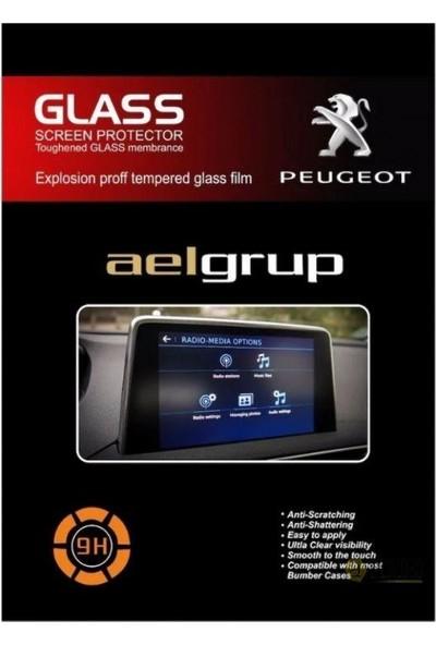 OLED Garaj Peugeot 5008 Multimedya Ekran Koruyucu
