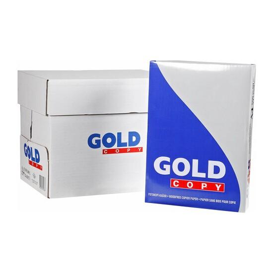 Gold Copy A4 Fotokopi Kağıdı 80 gr 5 Paket 2500 Sayfa