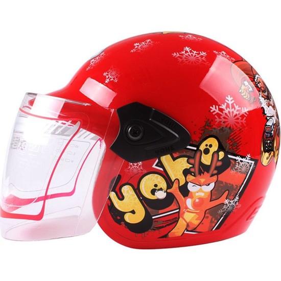 Yohe Y-A005 Açık Çocuk Motosiklet Kaskı
