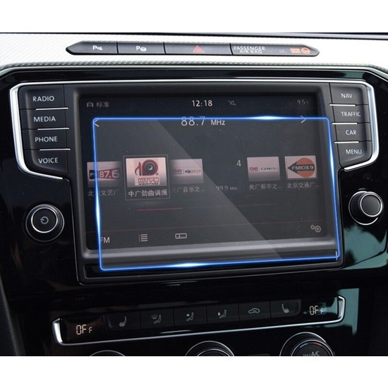 Aeltech Volkswagen Passat 2017 2018 Model 8 Inc Navigasyon Nano Ekran Koruyucu